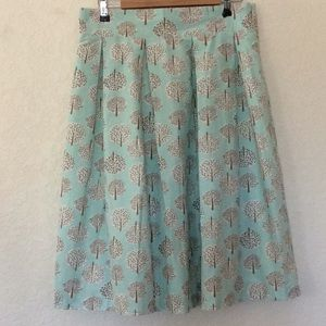 Downeast Basics adorable pleated skirt. Size L